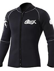 SLINX® Femme Homme Unisexe 3mm Costumes humides Combinaison de plongée Etanche Respirable Garder au chaud Séchage rapide Pare-ventTactel