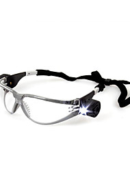 3м 11356 противоударные защитные очки ультрафиолетово-стойкие / противотуманные / с регулируемым фонариком