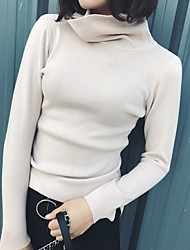 Sign # Ms. autumn and winter high collar imitation cashmere short paragraph Slim bottoming shirt sweater hedging thick sweater