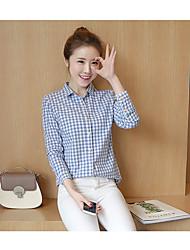 знак эротические +2017 новый клетчатую рубашку женщины диких тонкие женщин большого размера дна рубашки