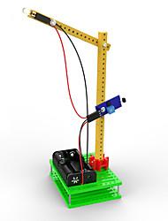 Spielzeuge Für Jungs Entdeckung Spielzeug LED - Beleuchtung Sets zum Selbermachen Gabelstapler Plastik Grün