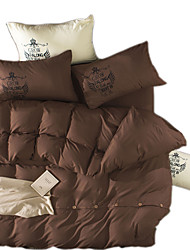 Mingjie Reactive Midnight Waltz Bedding Sets 4 Pcs for Queen Size Contain 1 Duvet Cover 1 Bedsheet 2 Pillowcases from China