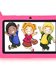 A33 7 pouces enfants Tablet (Android 4.4 1280*800 Quad Core 1GB RAM 8Go ROM)