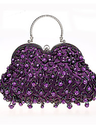 L.WEST Women's fashion Beaded Evening Bag hand bag bride dinner