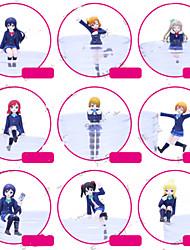 Figuras de Ação Anime Inspirado por Amar viver Fantasias PVC 7 CM modelo Brinquedos Boneca de Brinquedo