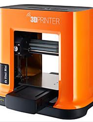 xyzprinting3d принтер да Винчи красный джаз про 0.05mm Минин мини 3d абс принтера