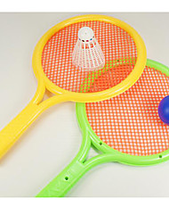 Badmintonschläger FederbälleKunststoff) -Hochelastisch Dauerhaft