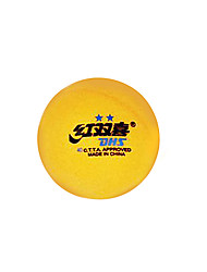 6 3 Stars Table Tennis Ball Yellow White Others Indoor Practise Leisure Sports