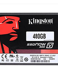Kingston Digital 480gb ssdnow v300 sata 3 2,5 (7 mm de hauteur) lecteur d'état solide (sv300s37a / 480g)