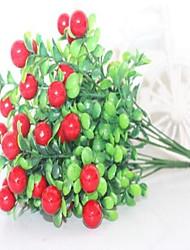 1 Ramo Plástico Outras Flor de Mesa Flores artificiais 16*16*34