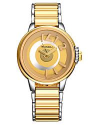 Dress Watch Fashion Watch Wrist watch Quartz Alloy Band Cool Casual Unique Creative Gold Rose Gold