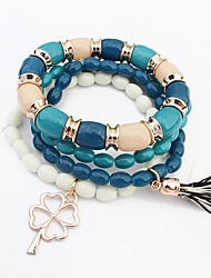 Fashion Bohemia Multilayer Beads Bracelet For Women Charm Strand Bracelets