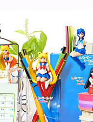 Anime Action Figures geinspireerd door Sailor Moon Sailor Moon PVC 6 CM Modelspeelgoed Speelgoedpop