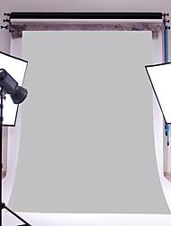 3x5ft grijze dunne vinyl fotografie achtergrond studio prop foto achtergrond