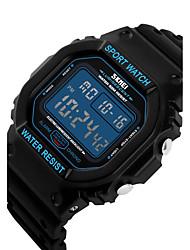 Masculino Mulheres Unissex Relógio Esportivo Relógio Elegante Relógio Esqueleto Relógio de Moda Relógio de Pulso Relogio digitalQuartzo