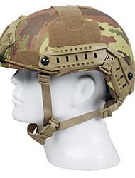 protetora de borracha / wearproof caça unisex camuflagem equipamentos de proteção