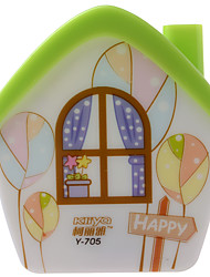 KLY Plugging In Little Night Lamp LED Cartoon Style House Appearance Night Lamp for Baby Bedroom