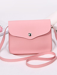 Women Bags All Seasons PU Shoulder Bag with for Event/Party Casual Formal Office & Career Red Blushing Pink Apricot Gray Wine