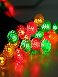 50 Lights Solar Energy Mixing Small Ball Light String