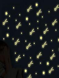 Cartoon Starry Sky Luminous Wall Stickers Vinyl Material Home Decoration