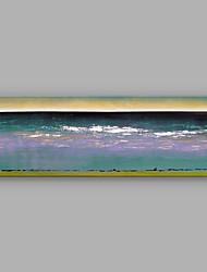 Peint à la main Paysages Abstraits Horizontale,Moderne Un Panneau Toile Peinture à l'huile Hang-peint For Décoration d'intérieur