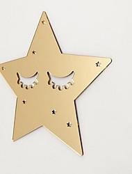 Star Shape Wall Sticker Plexiglass Material Home Decoration