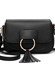 M.Plus Women's Fashion Faux/PU Leather Messenger Shoulder Bag