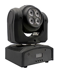 U'King® 70W Double Face 4*RGBW 4 in 1 1*Magic Ball LED Moving Head Stage Effect Lights DMX512 Master-slave Modes