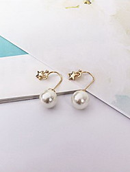 Drop Earrings Earrings Set Imitation Pearl Pearl Imitation Pearl Alloy White Jewelry Daily Casual 1 pair