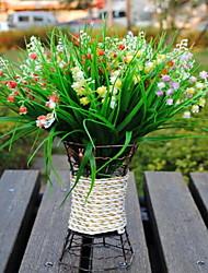 1 Ast Kunststoff andere Tisch-Blumen Künstliche Blumen 25*25*28