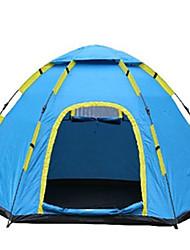 5-8 Pessoas Tenda Único Barracas para Acampamento Família Um Quarto Barraca de acampamento PoliésterProva de Água Respirabilidade Á