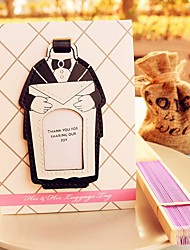 Groom Groomsman Place Card Holder and Luggage Tag DIY Wedding Decorations Beter Gifts®