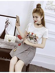 знак корейскую рыхлую тонкая паста ткань вышитая т плиссированные юбки маленький пакет производит наборы