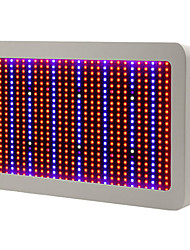 600W Full Spectrum LED Grow Light For Hydroponics Vegetables and Flowering Plants Red+Blue+UV+IR EU Plug
