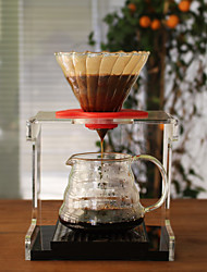 # ml  Glass Coffee Filter , Drip Coffee Maker Reusable Manual