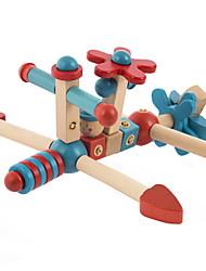 Brinquedo Educativo Brinquedos para presente Blocos de Construir Brinquedos Criativos & Pegadinhas Aeronave 2 a 4 Anos Brinquedos