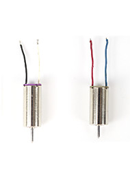 FQ777 FQ11  FQ777-FQ11 CW CCW Motor 2pcs For RC Quacopter Spare Parts For RC Camera Drone Accessories