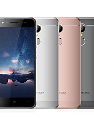 "HOMTOM HT37 5.0 "" Android 6.0 3G Smartphone (Dual SIM Quad Core 8 MP 2GB + 16 GB Grey Silver Rosy)"