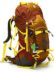55 L Rucksack Klettern Camping & Wandern Wasserdicht Regendicht Wasserdichter Reißverschluß Staubdicht