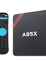 NEXBOX Amlogic S905X Android TV Box,RAM 2GB ROM 16GB Quad Core WiFi 802.11n Não