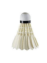 1 Stück Badminton Federbälle aus echten Federn Verschleißfest Dauerhaft Stabilität für Gänsefeder