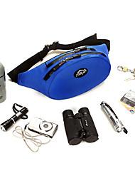 Bolsa de cinto Bolsa Transversal para Acampar e Caminhar Montanhismo Fitness Badminton Viajar Corrida Cooper Bolsas para EsporteÁ