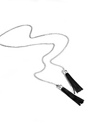 Necklace Non Stone Choker Necklaces Jewelry Daily Casual Tassel Euramerican Fashion Personalized Alloy 1pc Gift Silver Yellow Gold