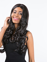 New Style Beautiful High quality Prevailing  Black Long Curly Hair Synthetic Wig