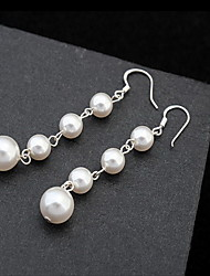 Women's Stud Earrings Pearl Love Natural Alloy Jewelry Jewelry For Daily
