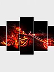 Отпечатки на холсте Люди фантазия Стиль Modern,5 панелей Холст Любая форма Печать Искусство Декор стены For Украшение дома