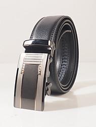 Men's fashion leisure automatic belt buckle belt width is about 3.6 cm