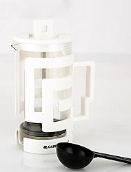 350 copo de plástico imprensa francesa, 3 xícaras preparar café reutilizáveis