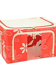Storage Boxes Storage Bags Metal Non-woven withFeature is Lidded  For Jewelry Underwear Shopping  Random color