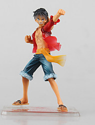 Figures Animé Action Inspiré par One Piece Monkey D. Luffy PVC 13 CM Jouets modèle Jouets DIY